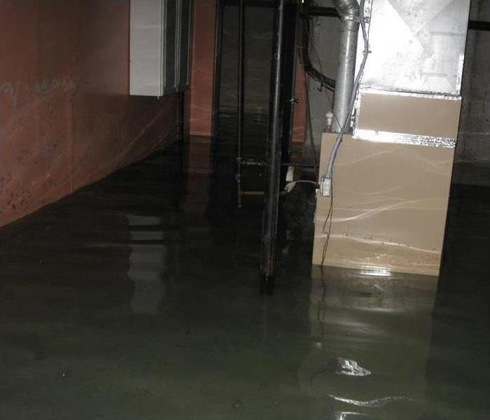 Picture of flooded furnace